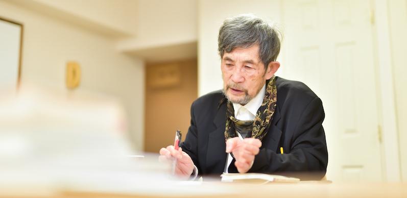 吉増剛造さんインタビュー